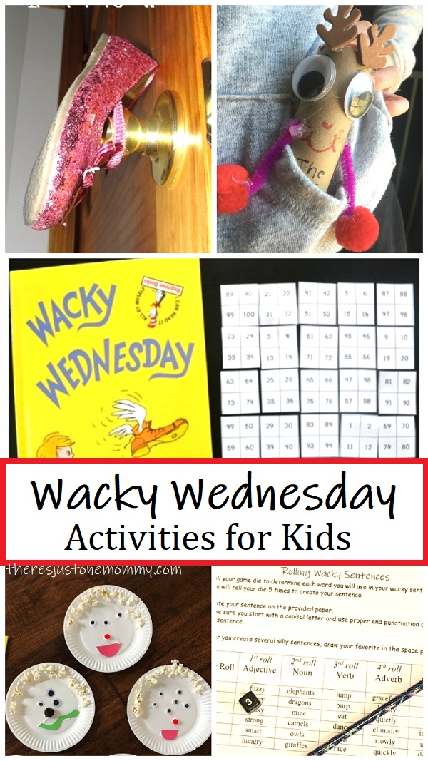 activities for Dr Seuss Wacky Wednesday
