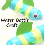 Colorful Water Bottle Fish Craft