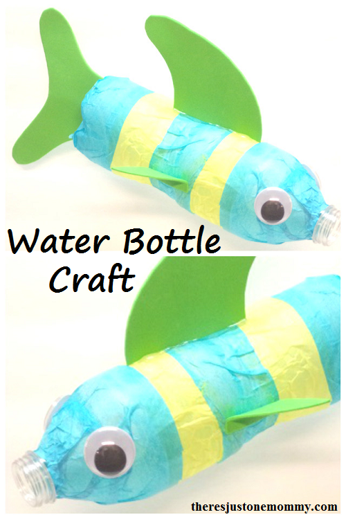 Water bottle craft there 39 s just one mommy for Water bottle recycling ideas
