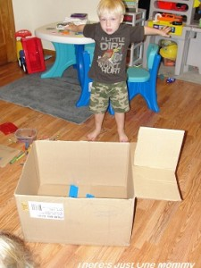 toddler cardboard craft