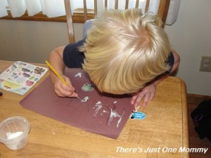 preschooler name craft