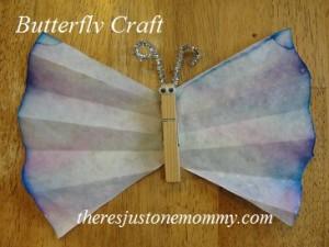 preschooler butterfly craft