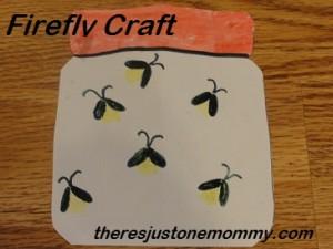 lightning bug fingerprint craft