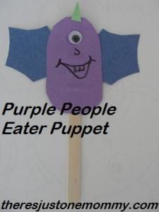 preschooler Halloween craft