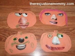 Kid's Halloween craft