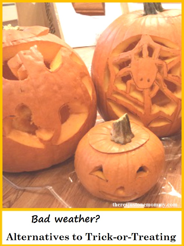 Halloween alternatives to trick-or-treating, perfect when the weather is bad on Hallween