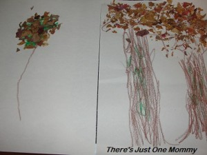 uses for fall leaves