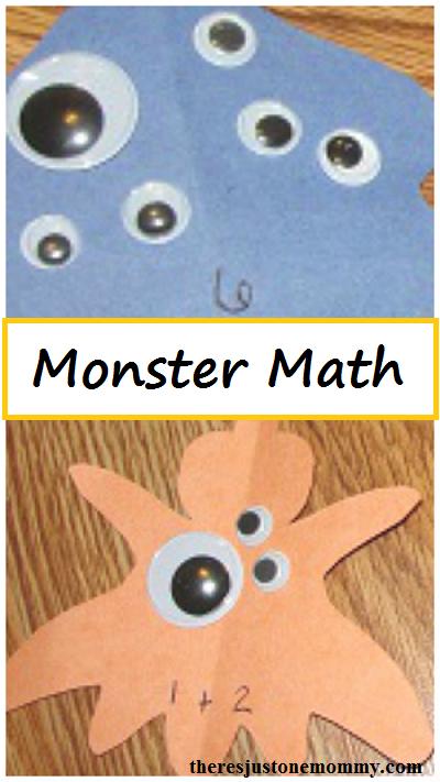 Monster Math -- hands-on math activity