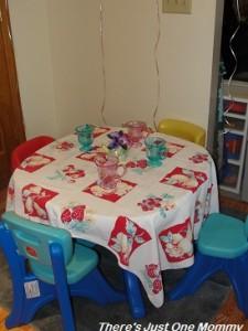 kid's tea party