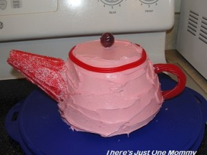 how to make a tea pot cake
