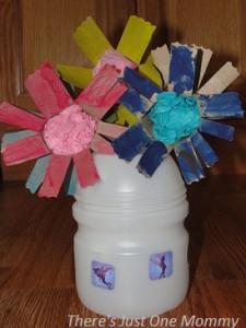 preschooler flower craft