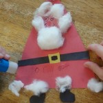 triangle Santa