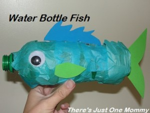 preschooler water bottle craft