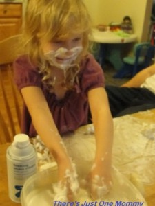 messy toddler fun