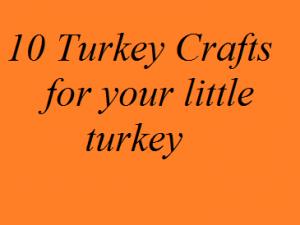 preschooler turkey craft
