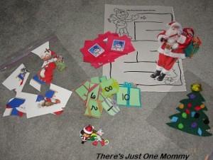 Christmas busy bag