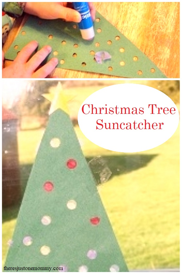 simple preschool Christmas tree craft