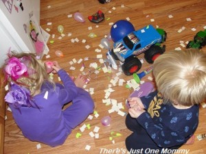 New Year's party with kids