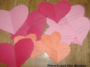 Valentine's activity