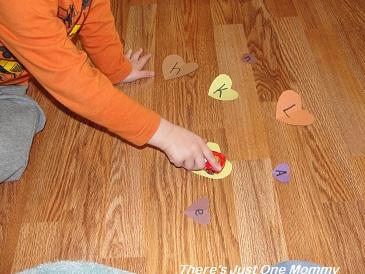 Dr. Seuss ABC book activity
