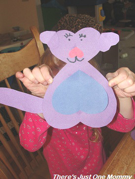 heart animal craft