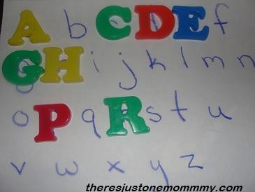preschooler alphabet game