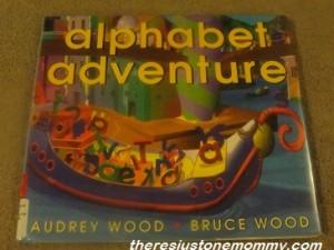 preschooler alphabet book