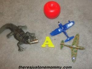 alphabet book activity