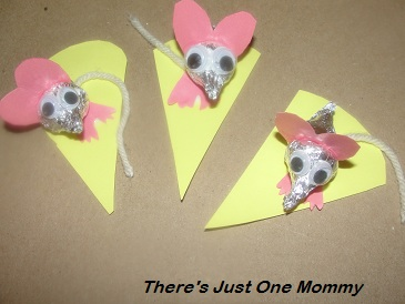 chocolate kiss craft