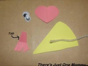 chocolate valentine's day craft