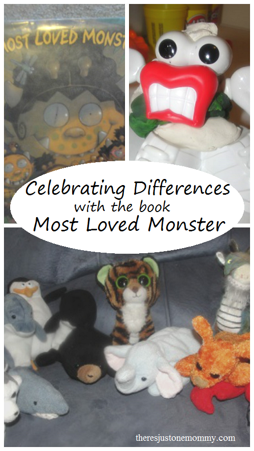 Celebrating Differences with the book Most Loved Monster