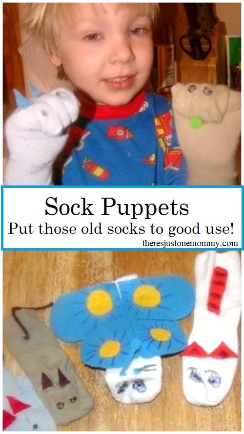 sock puppets kids craft