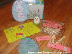 springtime quiet time box