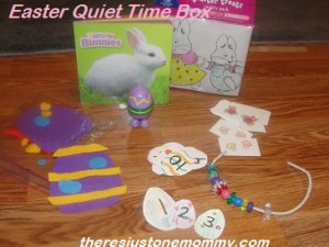 Easter quiet time bag