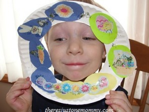 preschooler Easter craft