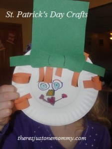 preschooler St. Patrick's Day craft