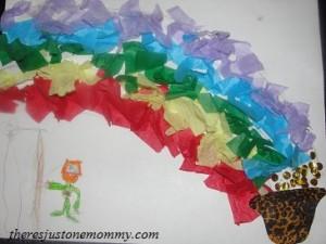 preschooler St. Patrick's Day craft