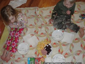 Preschooler Book Activities for Spring