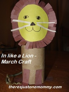 preschooler March craft