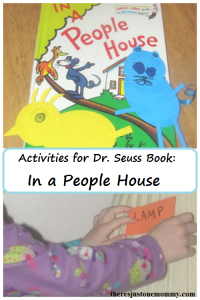 Activities for the Dr. Seuss book In a People House