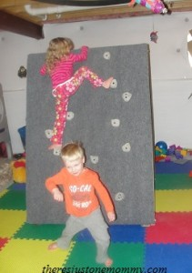 movable climbing wall