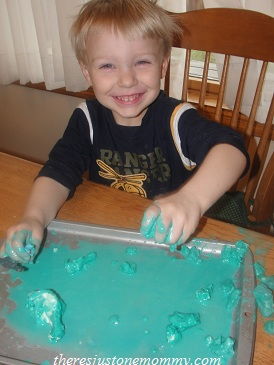 play-doh experiment