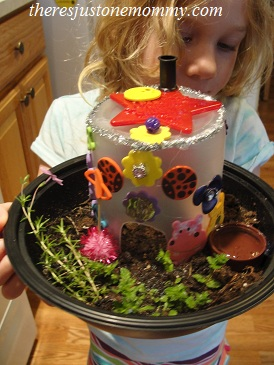 fairy craft: how to make a fairy house
