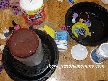 Fairy craft: making a fairy house from recyclables