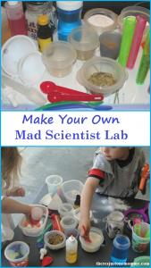 Preschool Science:  Mad Scientist Lab
