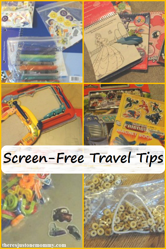 traveling with kids: screen free travel tips