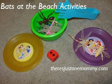 Bats at the Beach book activities