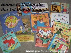 great books for the first day of school