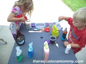 preschool color play