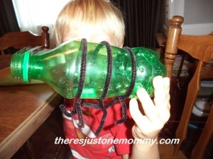 lightning bug water bottle craft